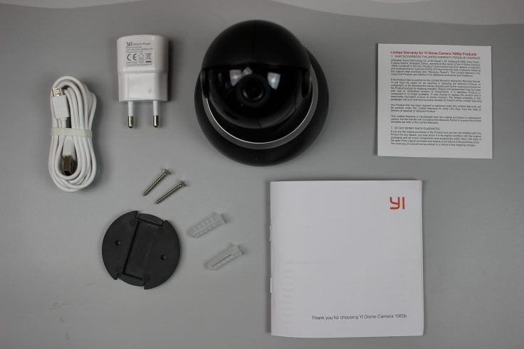 yi dome camera accessoires