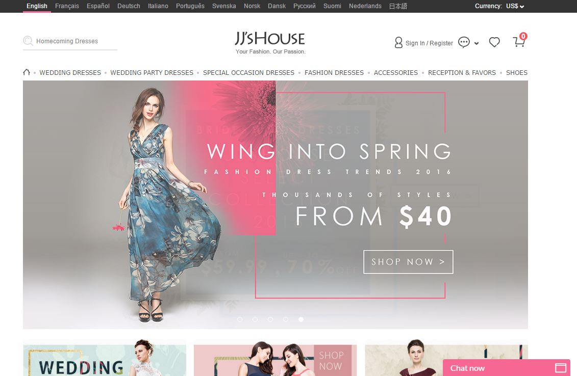 jjshouse Index