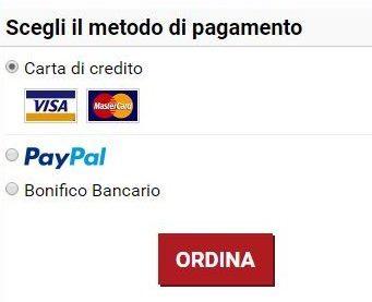 vMall metodi di pagamento